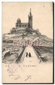 Postcard Old Marseille N D of the Guard