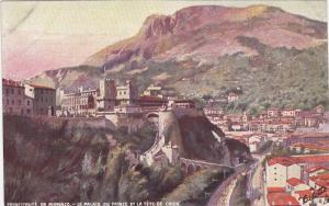 Monaco , La Palais du Prince et la Tete de Chien , TUCK #17 Serie 763, 00-10s