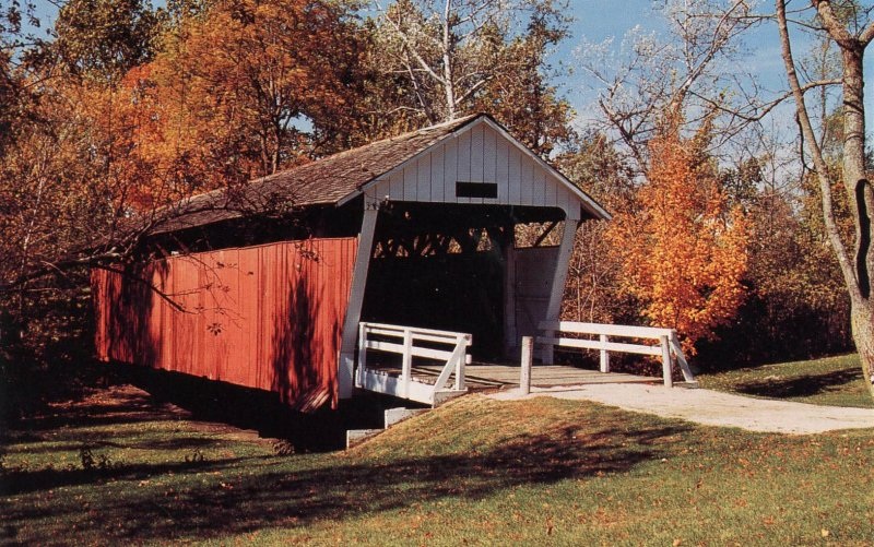IA - Winterset. Cutler-Donahoe Covered Bridge