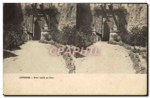 Postcard Old Bridge Lourdes Fort Levis