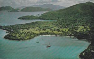 Scenic view,  Caneel Bay Plantation,  St. John. U.S. Virgin Islands,  PU_1977