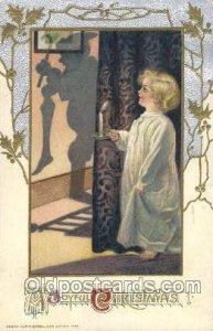 Artist Signed Samuel Schmucker, 1912 light crease right bottom corner tip, po...