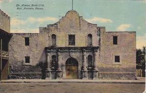 The Alamo, Built 1718, San Antonio, Texas, PU-1912