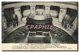 Old Postcard Paris Hotel des Invalides Tomb of Napoleon 1st