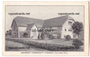 Amherst Community Church, College Hill