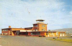 Yakima Washington~Municipal Airport 1950s Postcard