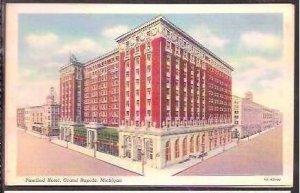 MI Grand Rapids Pantlind Hotel Curteich