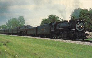 Nickel Plate Railway Locomotive #587 & Norfolk & Western #611