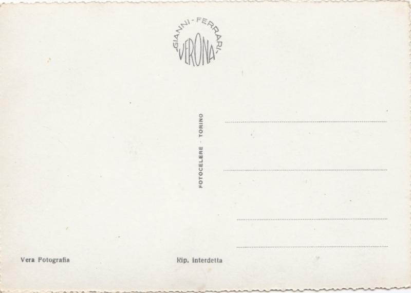 Verona, Madonna Verona, unused Real Photo Postcard