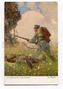 264586 WWI PROPAGANDA attack DEATH by ADAMS vintage Red Cross