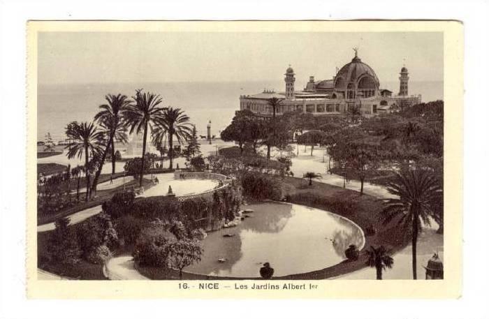 Nice  , France, 00-10s ; Les Jardins Albert 1er