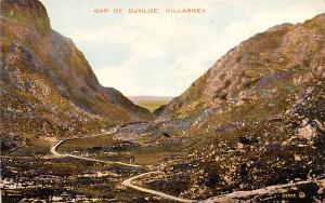 Scotland, UK Old Vintage Antique Post Card Gap of Dunloe Killarney Unused