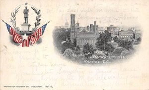 Smithsonian Institue and Naitonal Museum Washington DC, USA 1902 writing on f...