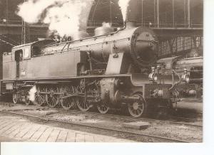 Postal 030427 : Locomotora de Vapor