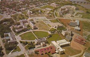 Canada Saskatoon Aerial View University Of Saskatchewan