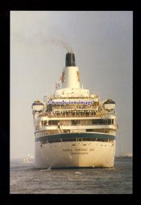 SIM0444 - Royal Viking Cruises Liner , Royal Viking Sky , built 1973 - postcard