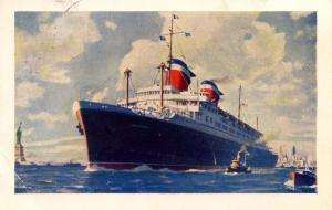 United States Lines - SS America - PAQUEBOT (Cobh, Ireland)
