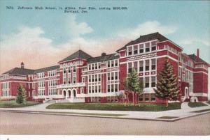 Oregon Portland Jefferson High School