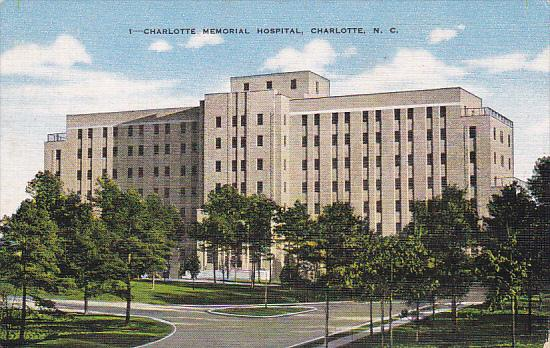 North Carolina Charlotte Memorial Hospital