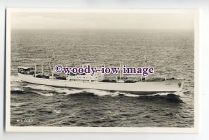 cb0388 - Swedish East Asia Line Cargo Ship - Sudan , built 1953 - postcard