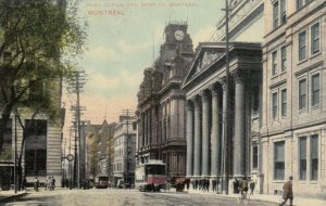 MONTREAL, Quebec, 00-10s; Post Office and Bank of Montreal