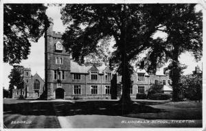 TIVERTON DEVON UK~BLUNDELL'S SCHOOL PHOTO POSTCARD 1933