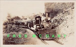 1910 Mount Tamalpais & Muir Woods Railway RPPC