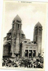 CPA AK Senegal-Dakar-Cathédrale du Souvenir Africain (235617)