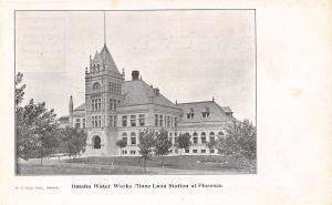 Florence Nebraska~Omaha Water Works Plant~Minne-lusa Station c1906 UDB Postcard