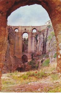 Spain Ronda Malaga New Bridge Over The Tagus