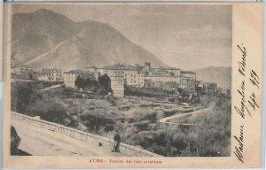44142 - CARTOLINA d'Epoca - FROSINONE provincia : Atina  1902