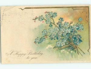 Divided-Back BEAUTIFUL FLOWERS SCENE Great Postcard AA2436