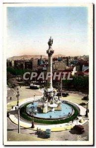 Old Postcard Marseille Place Castellane