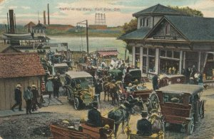 FORT ERIE , Ontario, Canada, 1900-10s ; Traffic at the Ferry