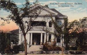 Alabama Montgomery Supt Mckinney Residence The Rest 1977