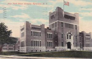 Exterior, New York State Armory, Syracuse,  New York, PU-1911