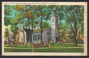 Virginia, Richmond - Old St John's Church - [VA-282]