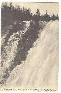Canadian Pacific Railway,Kakabeka Falls,near Fort William, Ontario,Canada,00-10s