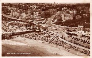 Sea Front Bournemouth General view Panorama