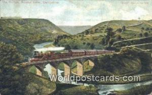 United Kingdom, UK, England, Great Britain The Bridge, Monsal Ddale Derbyshir...