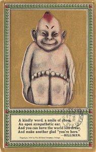 A kindly word, a smile of cheer, Buddha Oddities 1911