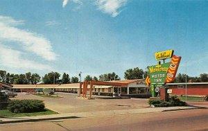 TWIN FALLS, ID Idaho  MONTEREY MOTOR INN MOTEL~Lincoln Hwy  ROADSIDE  Postcard