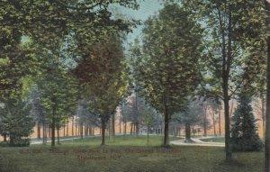 CHAUTAUQUA, New York, 1909; Through Miller Park to Pier, Chautauqua Institution
