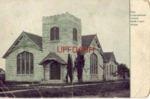 1910 FIRST CONGREGATIONAL CHURCH, SMITH CENTER, KS.