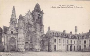 SENLIS, L'Eglise Saint-Pierre et Tribunal de Commerce, Oise, France, 00-10s