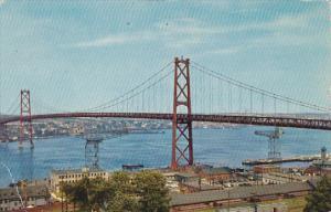 Canada Angus L MacDonald Memorial Bridge Nova Scotia 1956