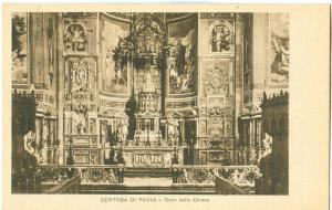 Italy, Certosa di Pavia, Coro della Chiesa, early 1900s