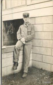 C-1910 Trolley Conductor Uniform Occupation RPPC real photo postcard 6874