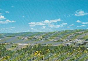 Canada Alberta Peace River Panorama