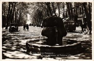 CPA AIX-en-PROVENCE Cours Mirabeau et Fontaine d'Eau chaude (339924)